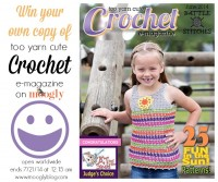 Enter to win your own copy of Too Yarn Cute #Crochet Magazine on Moogly! Giveaway open worldwide, ends 7/21/14 at 12:15 am Central.
