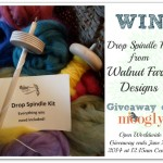 Walnut Farm Designs Drop Spindle Kit Giveaway!