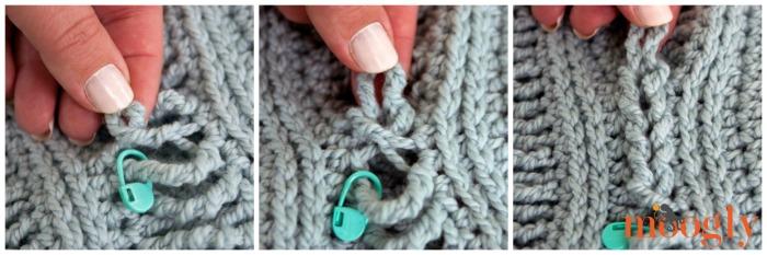 Free Crochet Pattern Ups And Downs Fingerless Gloves