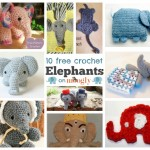 Elephants on Parade: 10 Free Crochet Elephant Patterns!