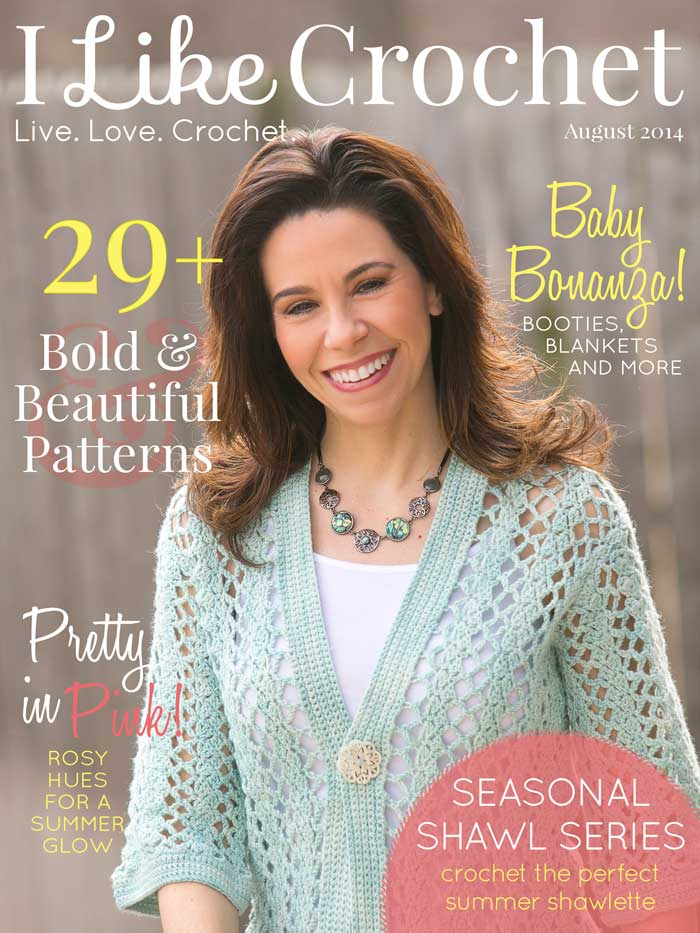 I Like Crochet: a review of their premier issue! On Moogly!