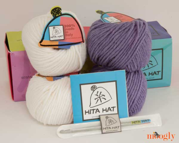 Win a #crochet Hita Hat Kit from @Adriafil on Moogly! Giveaway is open worldwide and ends 8/26/14 at 12:15am Central US Time.