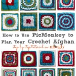 Planning your Crochet-a-Long Layout with PicMonkey!