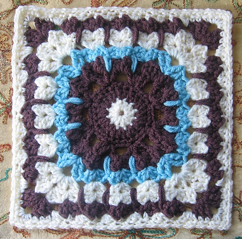 Moogly Afghan Crochet-a-Long 2014 Block #16: See How they Run by Margaret MacInnis
