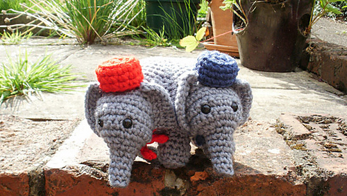 Elephants on Parade 10 Free Crochet Elephant Patterns - oukas info