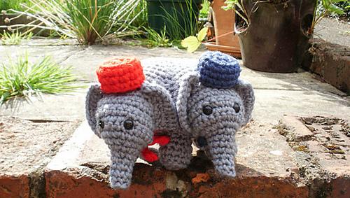 3 headed elephant