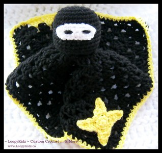 #Crochet Ninja Patterns - all sneaky and FREE! Collection on Mooglyblog.com