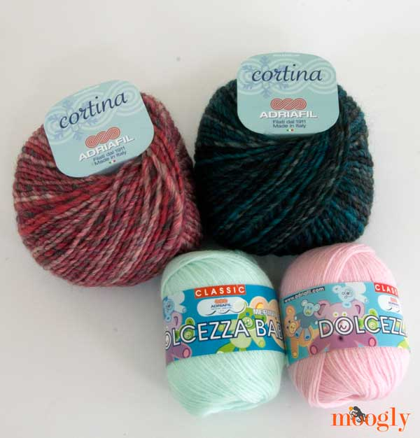 Lovely yarns from Adirafil in Italy!