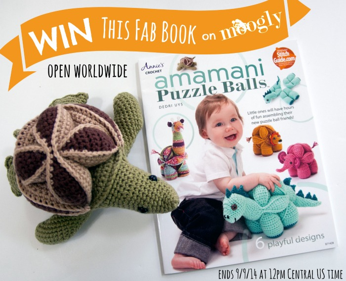 Amamani Puzzle Balls A Crochet Book Giveaway On Moogly