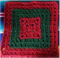 Bold Squares by Dayna Audisrch - free #crochet pattern