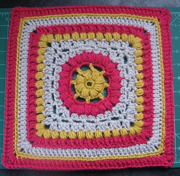 Block #18 in the Moogly 2014 Afghan Crochet-a-long!