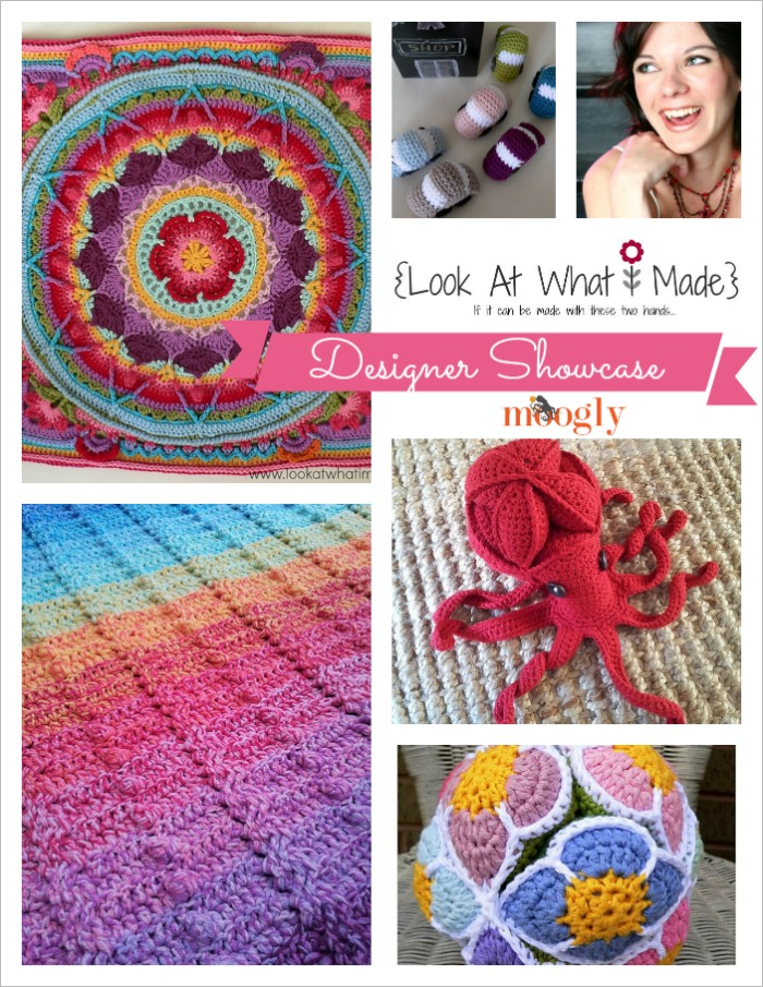 Dedri Uys is in the Moogly Designer Showcase this month! Get 5 fab free #crochet patterns from this great designer!