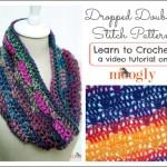 Dropped Doubles Stitch Pattern