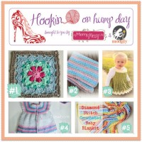 Hookin On Hump Day #79 - Link Party for the Fiber Arts on Moogly and My Merry Messy Life!