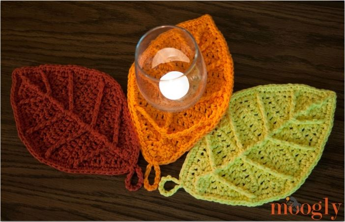 Happy Autumn Leaves Free Crochet Pattern On Moogly