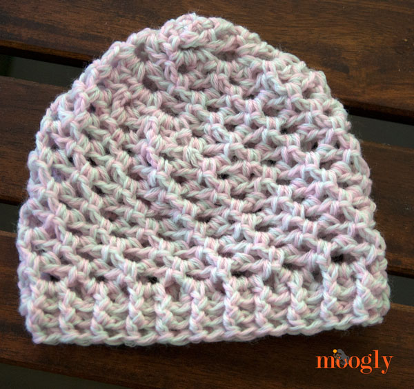 Loopy Love Newborn Baby Hat on Moogly