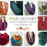 10 Free Cowl and Infinity Scarf Crochet Patterns on Moogly!