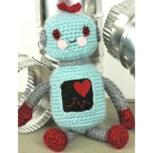 Amigurumi Robot Crochet Patterns : Domo Arigato for 10 Free #Crochet Robot Patterns!