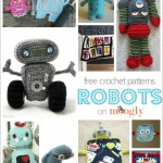 Domo Arigato, for 10 Free Crochet Robot Patterns!