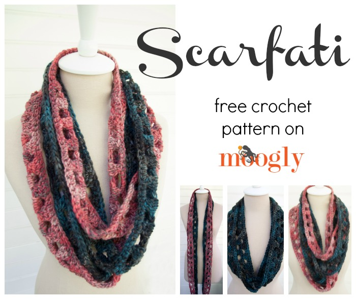 Scarfati: Free #Crochet Pattern on Moogly!