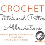 Check Out the New Crochet Abbreviations List on Moogly!