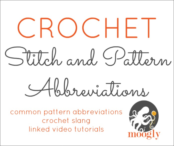 Crochet abbreviations moogly learn what all those crochet abbreviations mean with moogly bookmark this to be able dt1010fo
