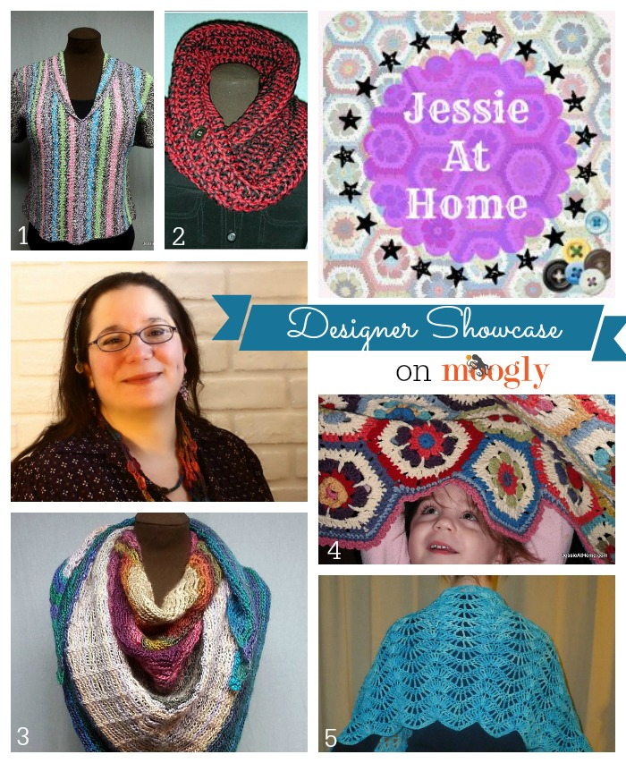 Meet Jessie Rayot, designer and blogger at Jessie At Home, in the Moogly Designer Showcase! #crochet #freepatterns