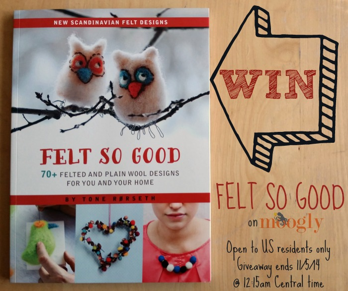 "Win ""Felt So Good"" on Moogly! Open to US residents, giveaway ends 11/5/14 at 12:15 am"