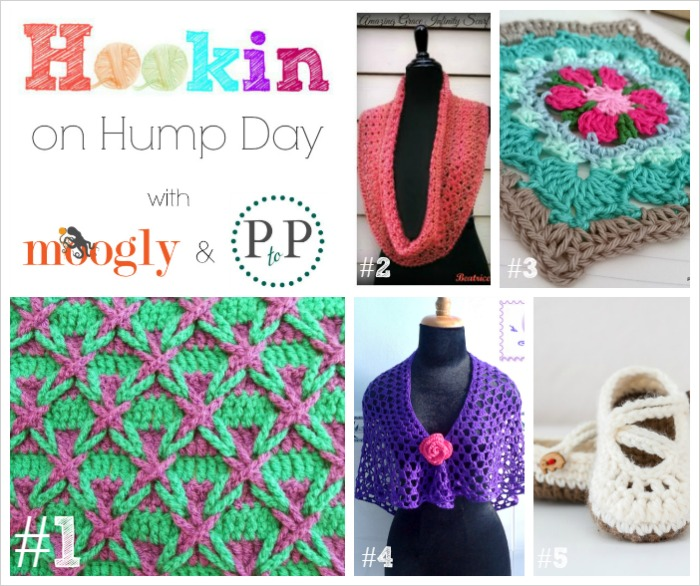 Hookin On Hump Day #81! Now hosted on Moogly and Petals to Picots, this is a fab link party for #crochet and #knitting!