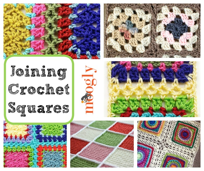Crochet Join : Get It Together: How to Join Crochet Squares 12 Ways!