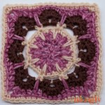 Mini Magic Mandala Square – 6″