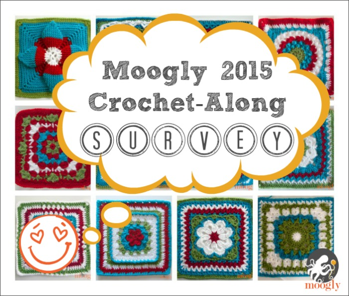 What sort of Crochet-Along do you want to see on Moogly in 2015? Take this 2 minute survey to find out! #crochet #CAL