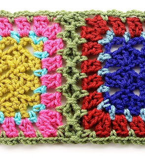 Crochet Patterns Joining Squares : Get It Together: How to Join Crochet Squares 12 Ways!
