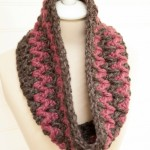 Stormy Weather Cowl: featuring Lion Brand Thick & Quick!