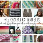 Better Together: Great Free Crochet Pattern Sets for Gift Giving!