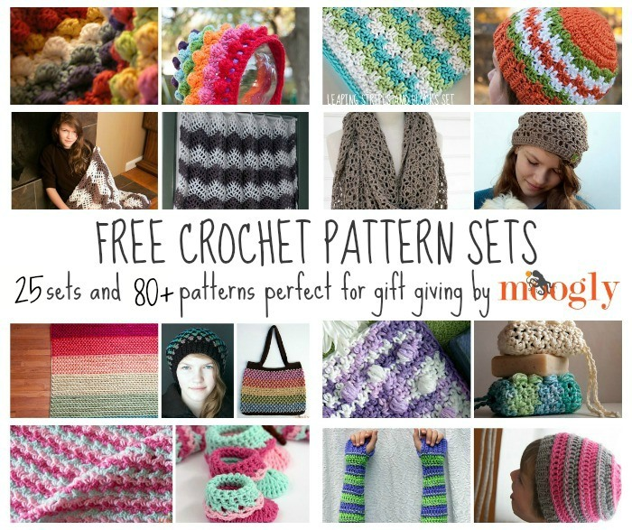 Better Together: Free #Crochet Pattern Sets for Gift Giving!