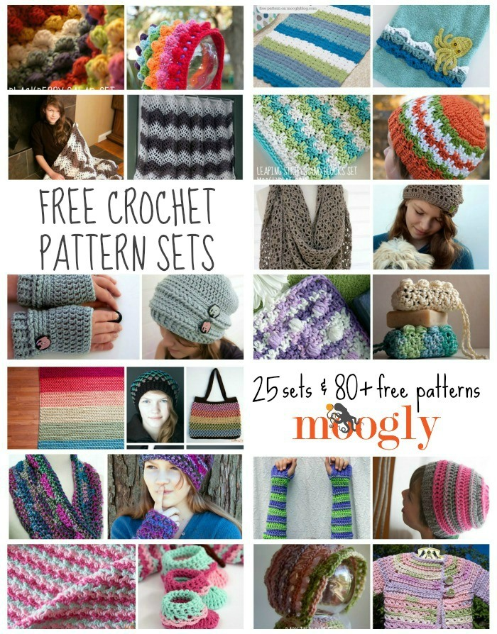 Whether you're putting together a fantastic gift set or just want to dive deep on a stitch pattern, you'll find what you're looking for on this Moogly Mega Post!