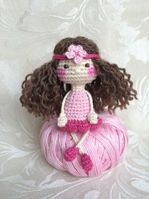 Baby Bean Doll (Free Amigurumi Crochet Pattern, Human Body Doll ... | 400x300