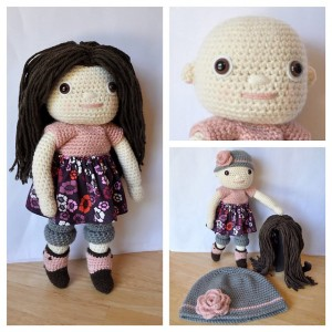 15 free #crochet doll patterns - on Moogly!