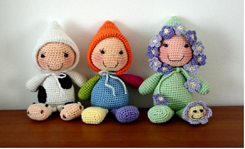 Delightful Dollies 15 Free Crochet Doll Patterns Moogly
