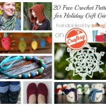 20 Free Crochet Patterns for Holiday Gift Giving on Craftsy!