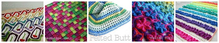 Gorgeous Patterns by Felted Button - on the Moogly Designer Showcase!