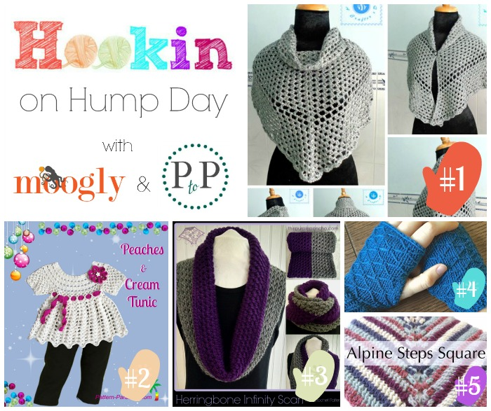 Hookin On Hump Day #83 - link party for #crochet #knitting and more!