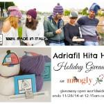Adriafil Hita Hat Holiday Giveaway on Moogly!