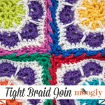 Tight Braid Join for Afghan Squares: Video Tutorial on Moogly!