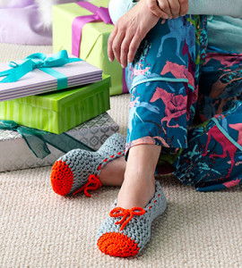 Crochet Ballet Slippers by Tamara Kelly of Moogly - in Country Woman Magazine!