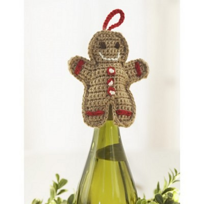 gingerbread wine topper