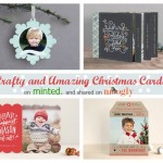 Get Crafty & Amazing Christmas Cards on Minted!