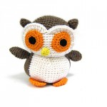 FreshStitches Brown Owl Kit and Crocheted Softies Giveaway!