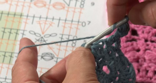 """See It, Crochet It: Reading Diagrams"" - read my review of this Craftsy class on Moogly!"